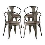 Promenade Set of 4 Bamboo Dining Chair