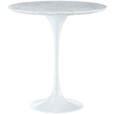 "Lippa 20"" Marble Side Table"