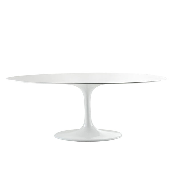 "Lippa 78"" Oval Fiberglass Dining Table"