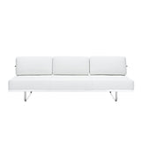 Charles Convertible Leather Sofa