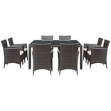 Channels 9 Piece Outdoor Patio Dining Set