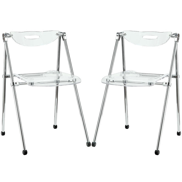 Telescope Set of 2 Dining Chairs