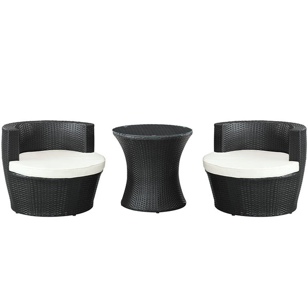 Canteen 3 Piece Outdoor Patio Lounge Set