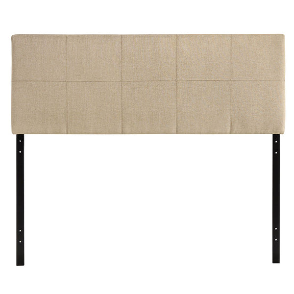Oliver Queen Upholstered Fabric Headboard