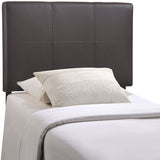 Oliver Twin Upholstered Vinyl Headboard