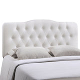 Annabel Queen Upholstered Vinyl Headboard