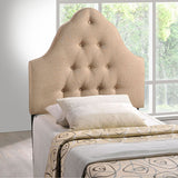 Sovereign Twin Upholstered Fabric Headboard