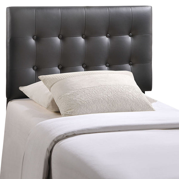 Emily Twin Upholstered Vinyl Headboard