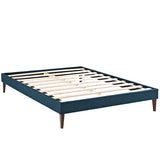 Sharon King Fabric Bed Frame with Squared Tapered Legs