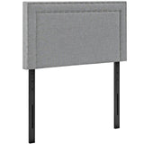 Jessamine Twin Upholstered Fabric Headboard