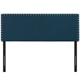 Phoebe King Upholstered Fabric Headboard