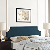 Laura Queen Upholstered Fabric Headboard