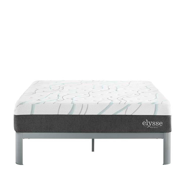 "Elysse Queen CertiPUR-US® Certified Foam 12"" Gel Infused Hybrid Mattress"