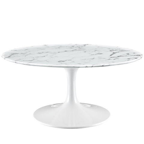 Tulip Coffee table replica - white