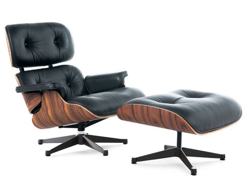 Eames lounge chair replica - Black