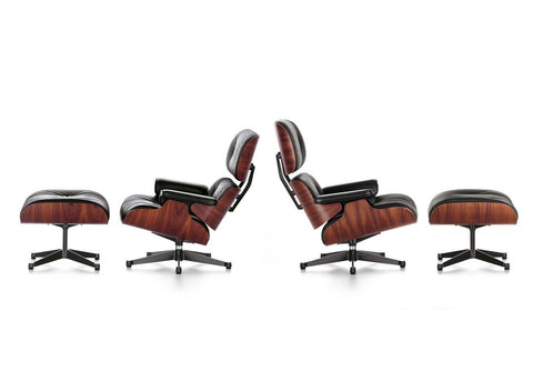 Mid-Century Lounge Chair & Ottoman - Tall Version