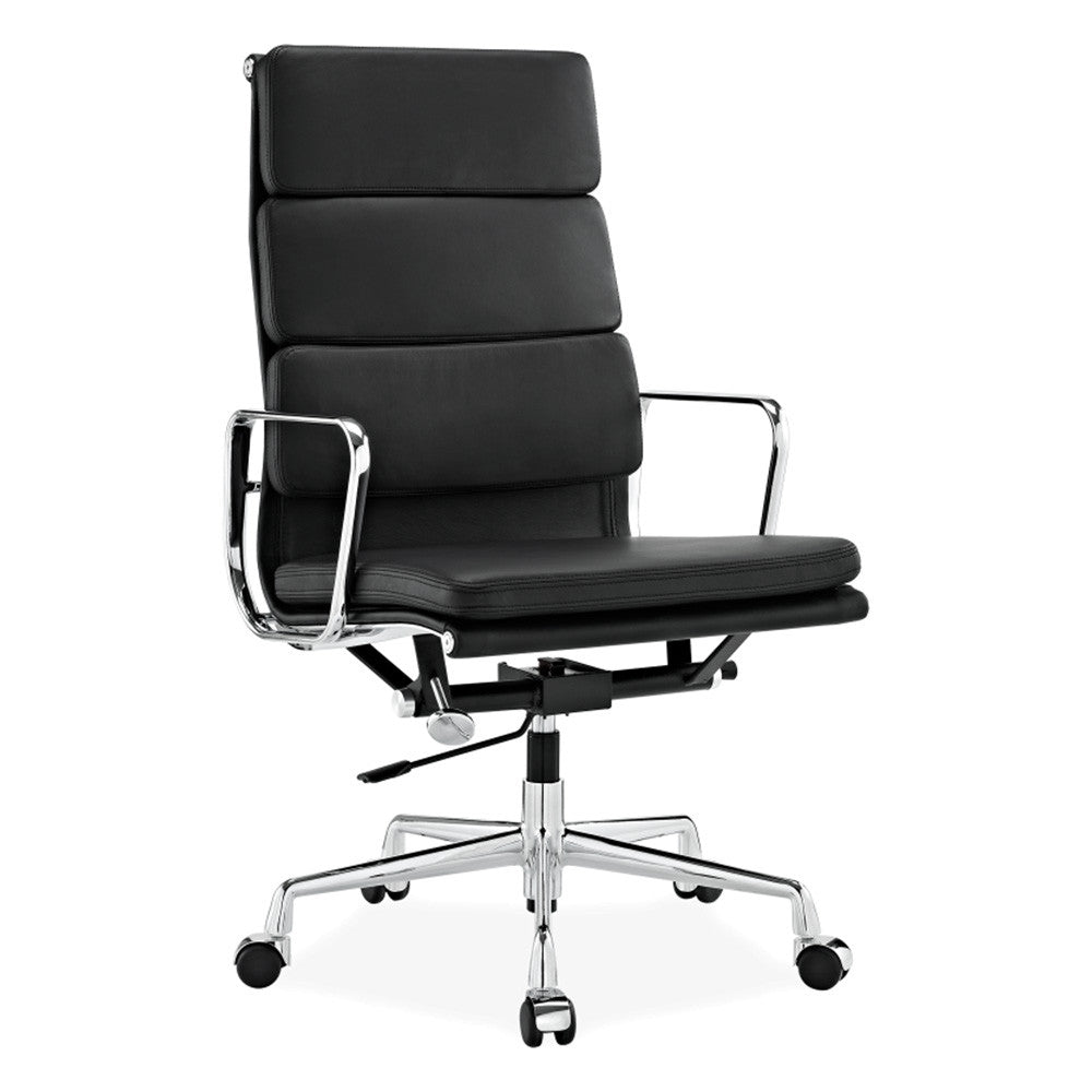 Eames aluminium softpad executive chair replica for Eames aluminium chair replica