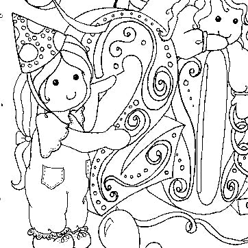Welcome 2018 Colouring Page