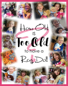 What age are rag dolls suitable for?