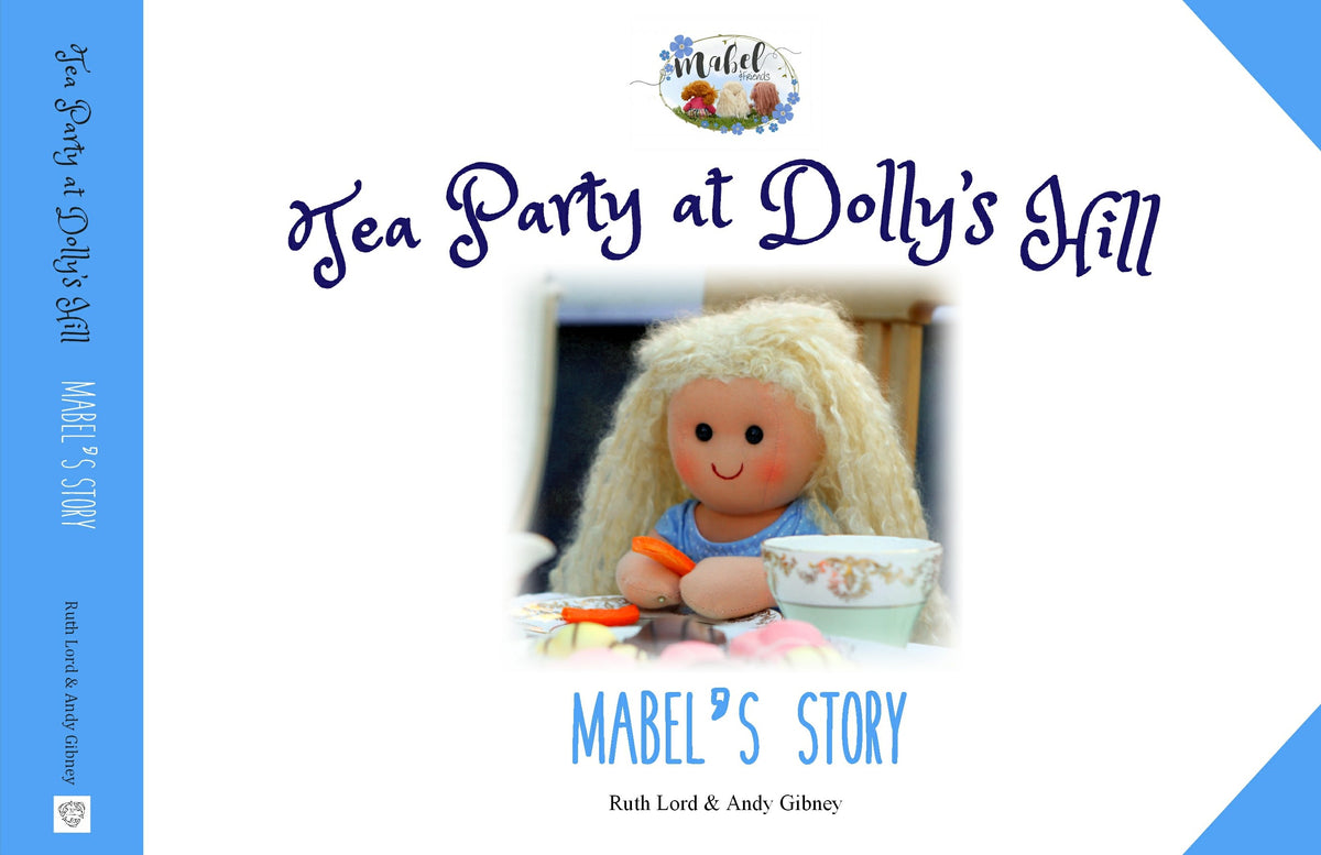 "Mabel 16"" Rag Doll with story book"