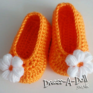 Shoes - Crocheted shoes