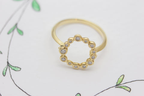 AMousse Large Sparkles Ring