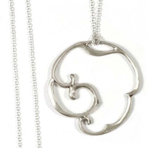 Arabesque 2 Large Circle Necklace