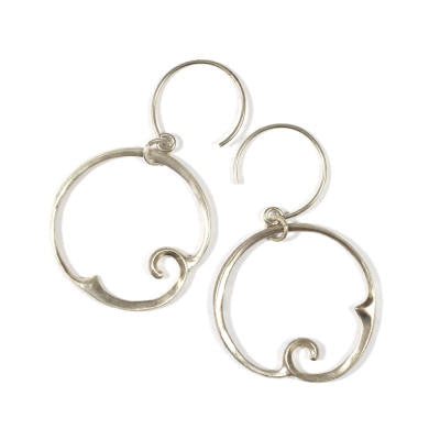 Arabesque 2 Loop Earrings