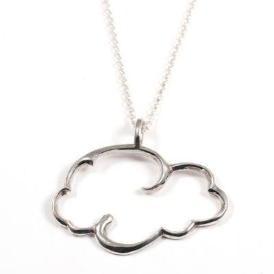 Large Cloud w/ Long 65cm Chain