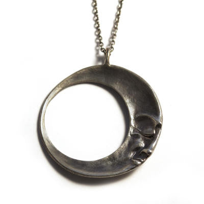 Sleeping Moon Pendant
