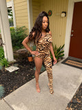 🐯 In & Out Jumpsuit Leopard 🐯