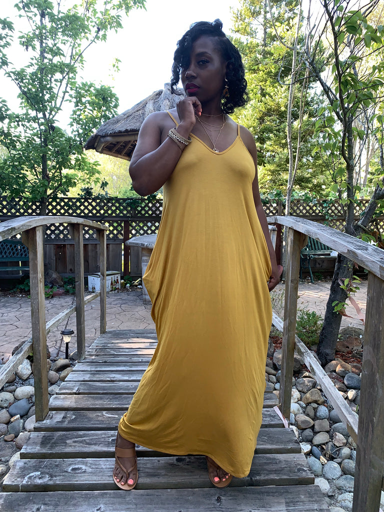 💛 The Harem Maxi in Mustard 💛
