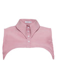 Pointed Pink Collar Vest Front
