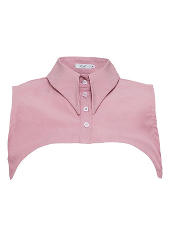 Pointed Pink Collar Vest