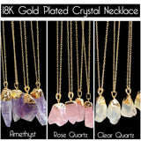18K Gold Plated Crystal Necklaces