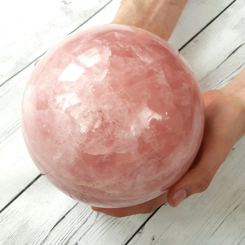 Rose Quartz Sphere XL