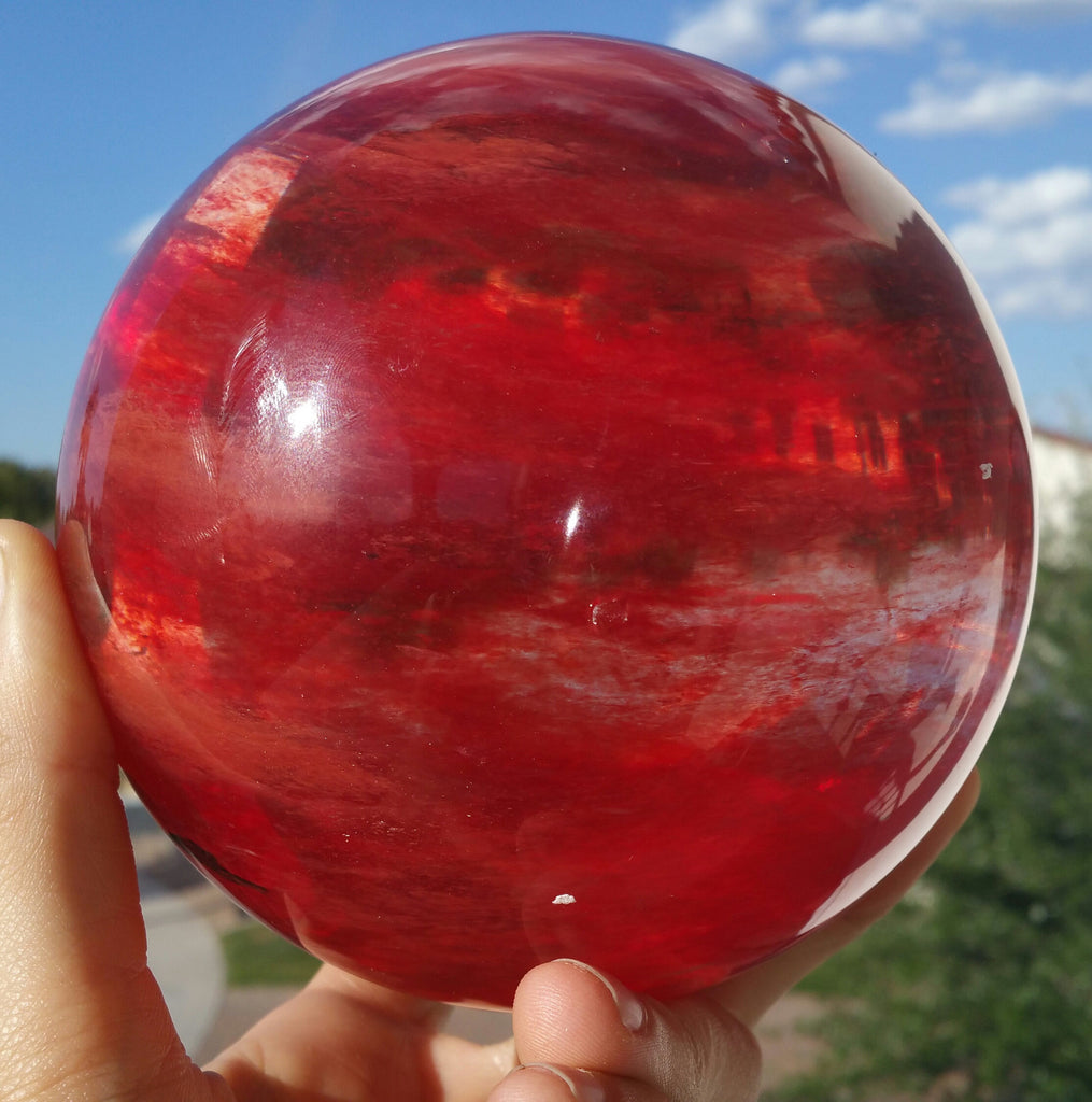 Red Cherry Crystal Ball