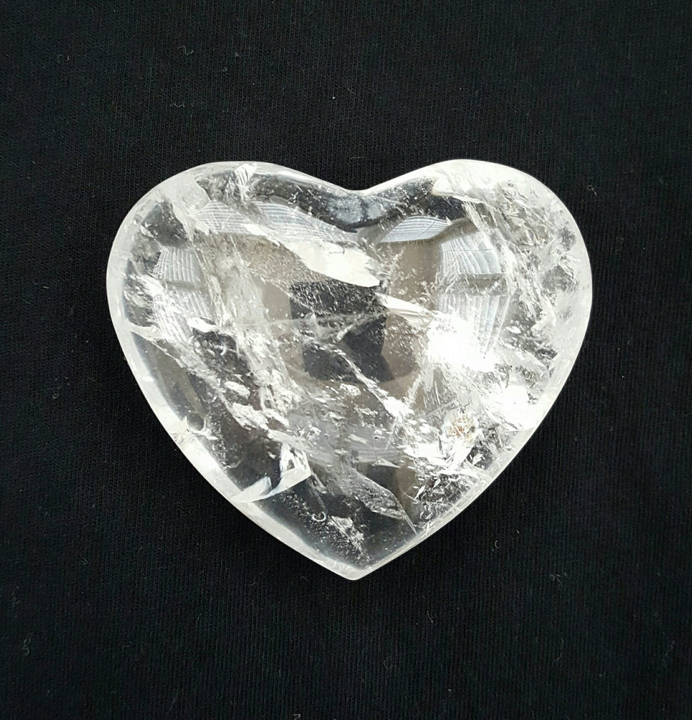 clear crystal heart - photo #36