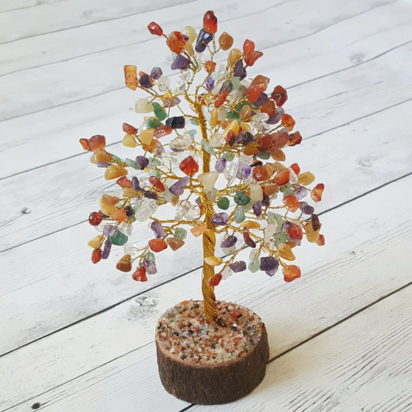 Multi Color Crystal Tree Amplify Your Vibration