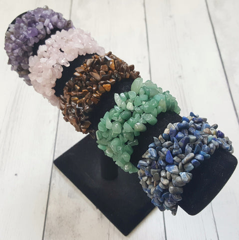 Crystal/Stone Stretch Bracelets