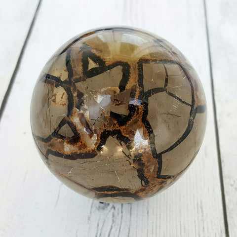 Septarian (Dragon) Jasper Sphere