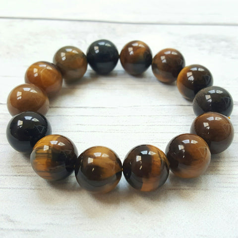 Tiger's Eye XL Beads Bracelet
