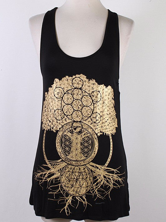 Tree Of Life/Sacred Geometry Tank
