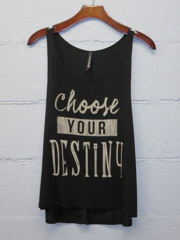 Choose Your Destiny Tank