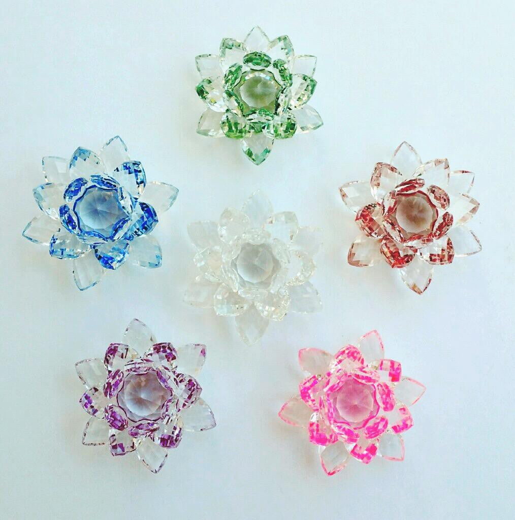 Feng shui crystal lotus flower amplify your vibration feng shui crystal lotus flower mightylinksfo