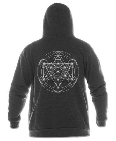 Metatron's Cube Recycled Hoody