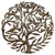 Metal Wall Art featuring Tree of Life and Birds from Haiti made from Recycled Steel Oil drum