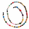 Face Mask/Eyeglass Paper Bead Chain, Colorful Mixed Shapes