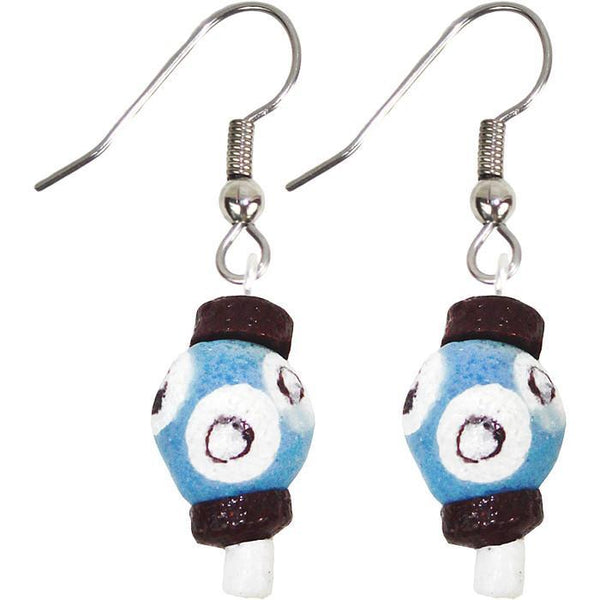 Grace Earrings Blue - Global Mamas