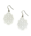Viti Earrings - Silvertone